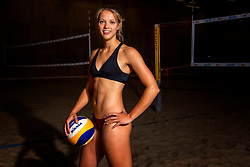 02-07-2018 NED: EC Beach teams Netherlands, The Hague<br /> Laura Bloem NED
