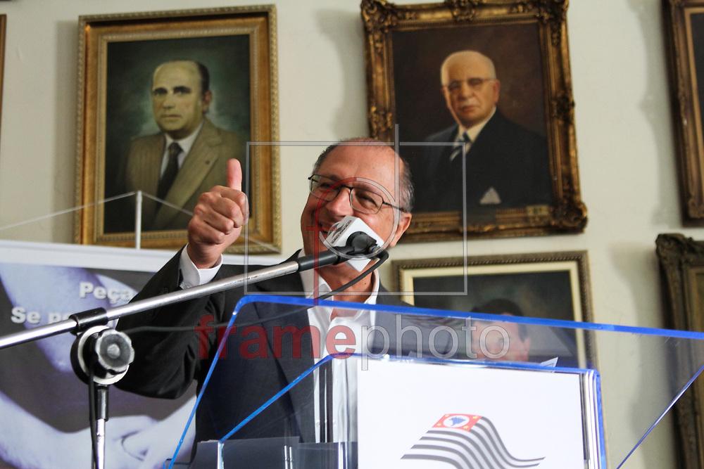 Campinas, SP - Geraldo Alckmin inaugura Centro de Encaminhamento do Cartão Recomeço em Campinas - Geraldo Alckmin discursa durante inauguração - 20/09/2013 - Luciano Claudino/Frame