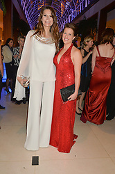 ISABELL KRISTENSEN and MAJOR KATE PHILP at Steps To The Future -in aid of RAFT (Restoration of Appearance & Function Trust) and Walking With The Wounded held at The Hurlingham Club, London on 28th November 2014.