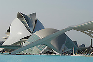 City of Science and Arts, by architect Catalatrava