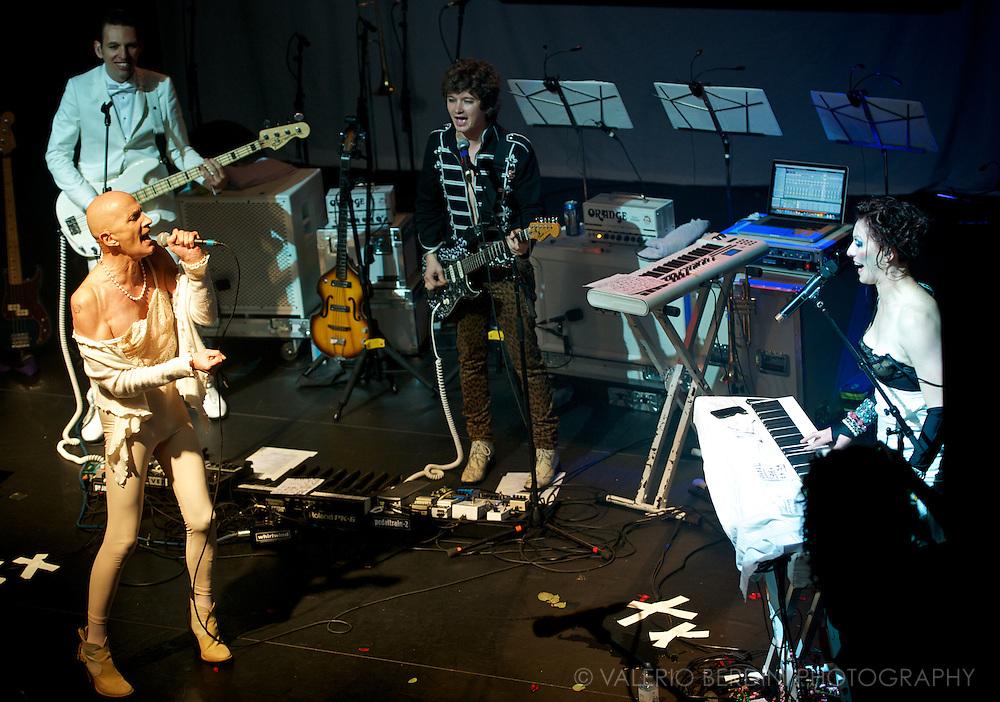 Amanda Palmer and the Grand Theft Orchestra live at Koko London 23 October 2012 with special guests Richard MacKinnon Gaiman, Richard O'Brien