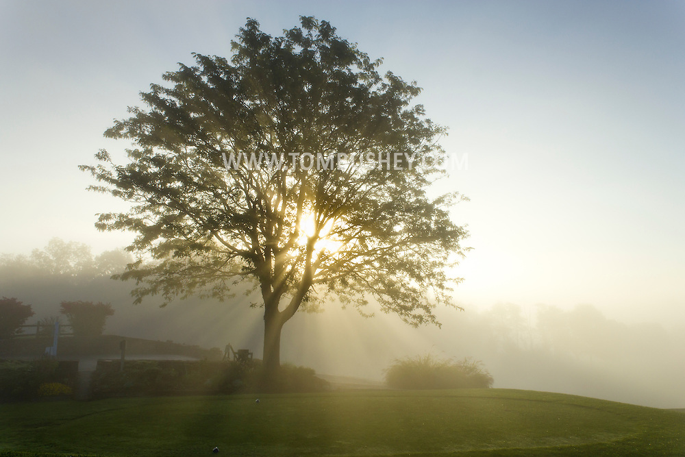 Hamptonburgh, New York  - Morning fog on Sept. 29, 2013.