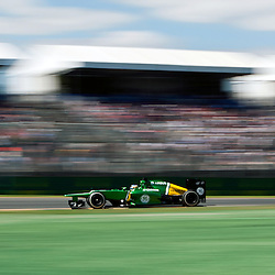 F1 Australian Grand Prix 15 March 2013.F1 Practice Session 1 Charles Pic Caterham Turn 4.(c) MILOS LEKOVIC | StockPix.eu