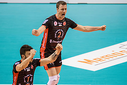 15-02-2017 NED: Draisma Dynamo - Ziraat Bankasi Ankara, Apeldoorn <br /> CEV Volleyball Challenge Cup 2017 / Dynamo verliest met 3-1 - Jeroen Rauwerdink #2