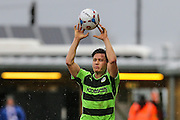 Forest Green's James Jennings during the Vanarama National League match between Forest Green Rovers and Eastleigh at the New Lawn, Forest Green, United Kingdom on 20 February 2016. Photo by Shane Healey.