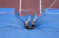 May 31, 2018 - Rome, Italy - Konstantinos Filippidis (GRE) competes in pole vault men during Golden Gala Iaaf Diamond League Rome 2018 at Olimpico Stadium in Rome, Italy on May 31, 2018. (Credit Image: © Matteo Ciambelli/NurPhoto via ZUMA Press)