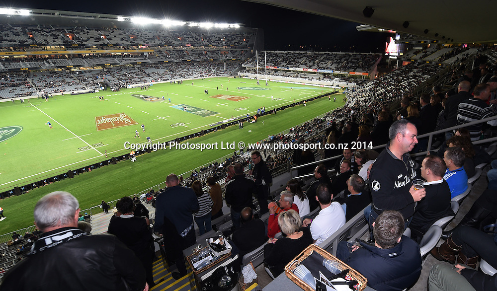 Corporate Hospitality. New Zealand All Blacks versus England. Rugby Union. 1st test match of the Steinlager Series at Eden Park, Auckland. New Zealand. Saturday 7 June 2014. Photo: Andrew Cornaga/Photosport.co.nz