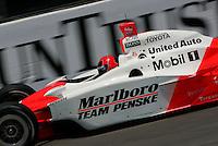 Helio Castroneves at the Richmond International Raceway, SunTrust Indy Challenge, June 25, 2005