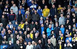 Bristol Rovers fans - Mandatory by-line: Robbie Stephenson/JMP - 19/04/2016 - FOOTBALL - Lamex Stadium - Stevenage, England - Stevenage v Bristol Rovers - Sky Bet League Two