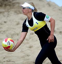 16-08-2014 NED: NK Beachvolleybal 2014, Scheveningen<br /> Marleen van Iersel