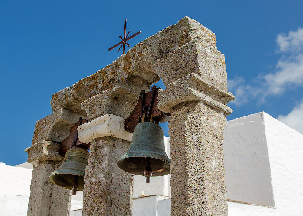 Bells of the Monastery of St. John in Patmos, Greece