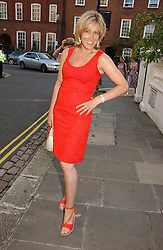 SANTA SEBAG-MONTEFIORE at Sir David & Lady Carina Frost's annual summer party held in Carlyle Square, Chelsea, London on 5th July 2006.<br /><br />NON EXCLUSIVE - WORLD RIGHTS