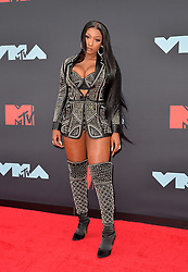 August 26, 2019, New York, New York, United States: Megan Thee Stallion arriving at the 2019 MTV Video Music Awards at the Prudential Center on August 26, 2019 in Newark, New Jersey  (Credit Image: © Kristin Callahan/Ace Pictures via ZUMA Press)