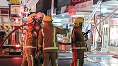 Pukekohe-Fire crews respond to blaze in Auckland Arcade