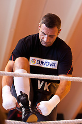 23.08.2011, Stanglwirt, Going, AUT, Vitali Klitschko, Training, im Bild  Vitali Klitschko // during a trainingssession at Hotel Stanglwirt in Going, Austria on 23/8/2011. EXPA Pictures © 2010, PhotoCredit: EXPA/ J. Groder