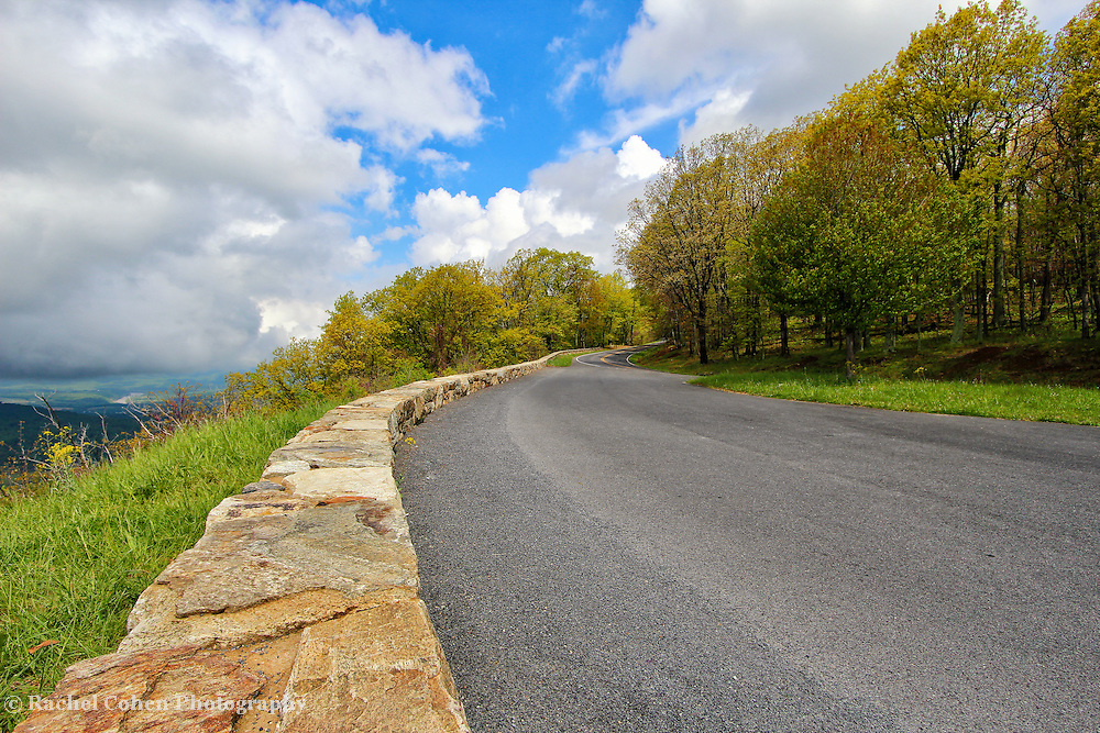 &quot;If These Walls Could Talk&quot;<br /> <br /> Beautiful stone walls along Gooney Manor overlook, as well as a wonderful and scenic view!!<br /> <br /> The Blue Ridge Mountains by Rachel Cohen
