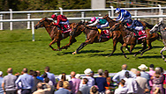 Lightning Spear ridden by Oisin Murphy wins the Qatar Sussex Stakes during Day 2 of QGF2018, the Qatar Goodwood Festival.<br /> Picture date: Wednesday August 1, 2018.<br /> Photograph by Christopher Ison ©<br /> 07544044177<br /> chris@christopherison.com<br /> www.christopherison.com