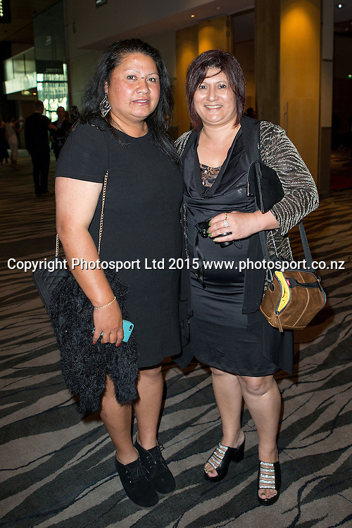 Guests at the SkyCity Breakers Awards, 2014-15, SkyCity Convention Centre, Auckland, New Zealand, Friday, March 20, 2015. Copyright photo: David Rowland / www.photosport.co.nz