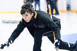 Vesna Zornik at 1st Curling National Championship, on December 19, 2010 in Dvorana Zalog, Ljubljana, Slovenia. (Photo By Matic Klansek Velej / Sportida.com)