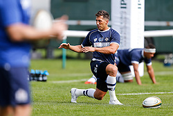 Bristol Rugby Fly-Half Gavin Henson warms up - Mandatory byline: Rogan Thomson/JMP - 07966 386802 - 13/09/2015 - RUGBY UNION - Old Deer Park - Richmond, London, England - London Welsh v Bristol Rugby - Greene King IPA Championship.