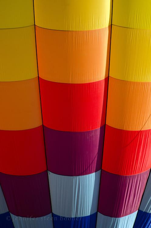 Detail of 'Aerloon,' Crown of Maine Balloon Fair, Presque Isle, Maine.