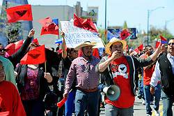 Workers, community leaders and and concerned citizens marched for four miles through East Salinas on Sunday, March 24 in a demonstration organized by the United Farm Workers in support of comprehensive immigration reform.