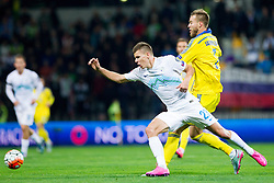 Roman Bezjak (SLO) during the UEFA EURO 2016 Play-off for Final Tournament, Second leg between Slovenia and Ukraine, on November 17, 2015 in Stadium Ljudski vrt, Maribor, Slovenia. Photo by Urban Urbanc / Sportida