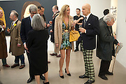TIMOTHY TAYLOR; BETTINA BALHSEN; ALEX KATZ;, Alex Katz opening. Timothy Taylor gallery. London. 3 March 2010.