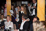 TRUDIE STYLER; JEMIMA KHAN; HUGH GRANT , The Hoping Foundation  'Rock On' benefit evening for Palestinian refugee children.  Cafe de Paris, Leicester Sq. London. 20 June 2013