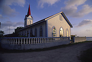 Church in Tiva, Tahaa, French Polynesia<br />