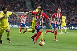 October 28, 2017 - Madrid, Spain - An ocassion of goal for Correa..Draw at 1 in Wanda Metropolitano stadium. (Credit Image: © Jorge Gonzalez/Pacific Press via ZUMA Wire)