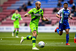Teemu Pukki of Norwich City - Mandatory by-line: Robbie Stephenson/JMP - 14/04/2019 - FOOTBALL - DW Stadium - Wigan, England - Wigan Athletic v Norwich City - Sky Bet Championship