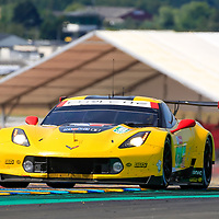 #63, Corvette Racing-GM, Chevrolet Corvette C7.R, LMGTE Pro, driven by: Jan Magnussen, Antonio Garcia, Mike Rockenfeller, 24 Heures Du Mans  2018,  Test, 03/06/2018,