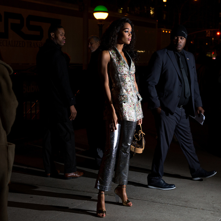 Laura Harrier at the Lincoln Center Corporate Gala Fund 2017