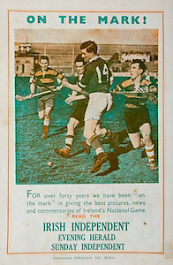All Ireland Senior Hurling Championship Final,.Brochures,. 01.09.1946, 09.01.1946,1st September 1946, .Cork 7-5, Kilkenny 3-8, .Minor Dublin v Tipperary.Senior Cork v Kilkenny.Croke Park, ..Advertisements, Irish Independent Evening Herald Sunday Independent,