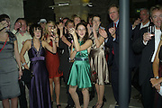 Lydia Patyra, Martha Mosse and Abigail Matson, Book party for Sepulchure by Kate Mosse. Crypt at at. Martin in the Fields. Trafalgar Sq. London. 31 October 2007. -DO NOT ARCHIVE-© Copyright Photograph by Dafydd Jones. 248 Clapham Rd. London SW9 0PZ. Tel 0207 820 0771. www.dafjones.com.