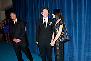 RUPERT SANDERS; LIBERTY ROSS, Grey Goose Winter Ball to Benefit the Elton John AIDS Foundation. Battersea park. London. 29 October 2011. <br /> <br />  , -DO NOT ARCHIVE-© Copyright Photograph by Dafydd Jones. 248 Clapham Rd. London SW9 0PZ. Tel 0207 820 0771. www.dafjones.com.