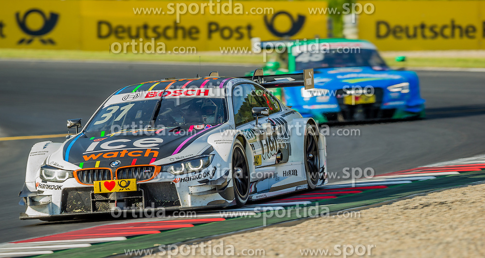 21.05.2016, Red Bull Ring, Spielberg, AUT, DTM Red Bull Ring, Rennen, im Bild Tom Blomqvist (GRB, BMW M4 DTM) // during the DTM Championships 2016 at the Red Bull Ring in Spielberg, Austria, 2016/05/21, EXPA Pictures © 2016, PhotoCredit: EXPA/ Dominik Angerer