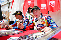 20100527: LOULE, ALGARVE, PORTUGAL - Portugal WRC Rally 2010 - Drivers signing autographs. In picture: Mikko Hirvonen / Jarmo Lehtinen (FIN) - BP Ford Abu Dhabi World Rally Team - Ford Focus RS WRC 09. PHOTO: CITYFILES