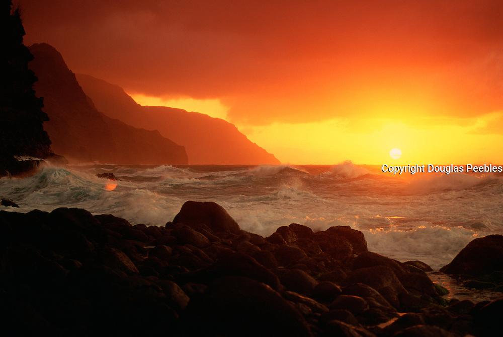 Napali Coast, Kauai, Hawaii, USA<br />
