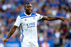Wes Morgan of Leicester City - Mandatory by-line: Robbie Stephenson/JMP - 01/08/2018 - FOOTBALL - King Power Stadium - Leicester, England - Leicester City v Valencia - Pre-season friendly