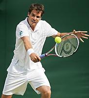 GEPA-2606087720A - LONDON,ENGLAND,26.JUN.08 - TENNIS - ATP, Wimbledon 2008, Grand Slam. <br />Bild zeigt Tommy Haas (GER).<br />Foto: GEPA pictures/ Alan Grieves