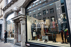 Exterior of Elvine clothing store in Mitte Berlin, Germany
