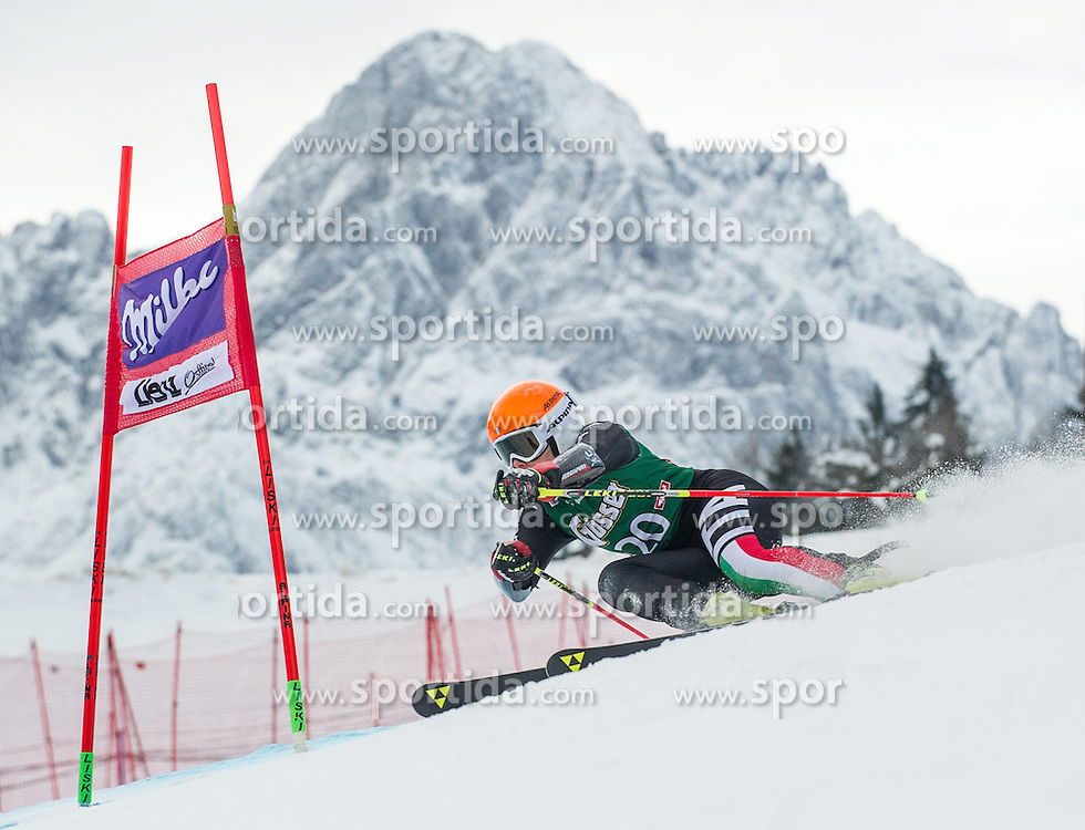 28.12.2013, Hochstein, Lienz, AUT, FIS Weltcup Ski Alpin, Lienz, Riesentorlauf, Damen, 1. Durchgang, im Bild Denise Karbon (ITA) // during the 1st run of ladies giant slalom Lienz FIS Ski Alpine World Cup at Hochstein in Lienz, Austria on 2013-12-28, EXPA Pictures © 2013 PhotoCredit: EXPA/ Michael Gruber