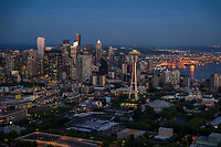 City of Seattle @ Blue Hour