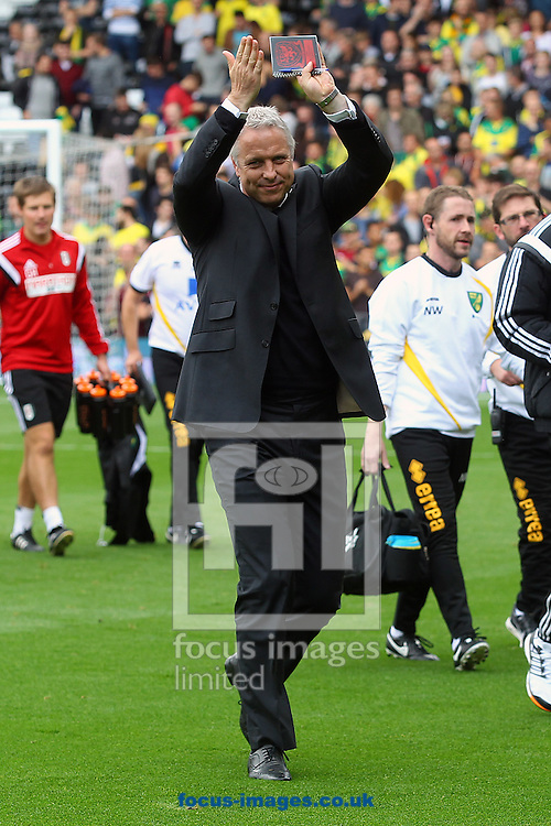 Fulham Caretaker Manager Kit Symons before the Sky Bet Championship match at Craven Cottage, London<br /> Picture by Paul Chesterton/Focus Images Ltd +44 7904 640267<br /> 18/10/2014
