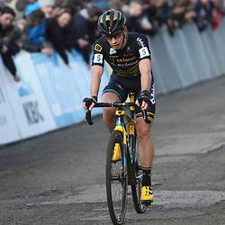 27-10-2019: Wielrennen: Superprestige Veldrijden:Eli Iserbyt wint in Gavere voor Lars van der Haar en Laurens Sweeck