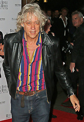 © Licensed to London News Pictures. 30/09/2014, UK. Bob Geldof, Soul Boys Of The Western World, Spandau Ballet: The Film - European film premiere, Royal Albert Hall, London UK, 30 September 2014. Photo credit : Richard Goldschmidt/Piqtured/LNP