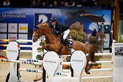 SOSATH Hendrik (WES), Cadora<br /> Braunschweig - Löwenclassics 2018<br /> Deutsche Meisterschaft der Landesverbände<br /> 1. Wertung Mannschaftsspringen<br /> © www.sportfotos-lafrentz.de/Stefan Lafrentz