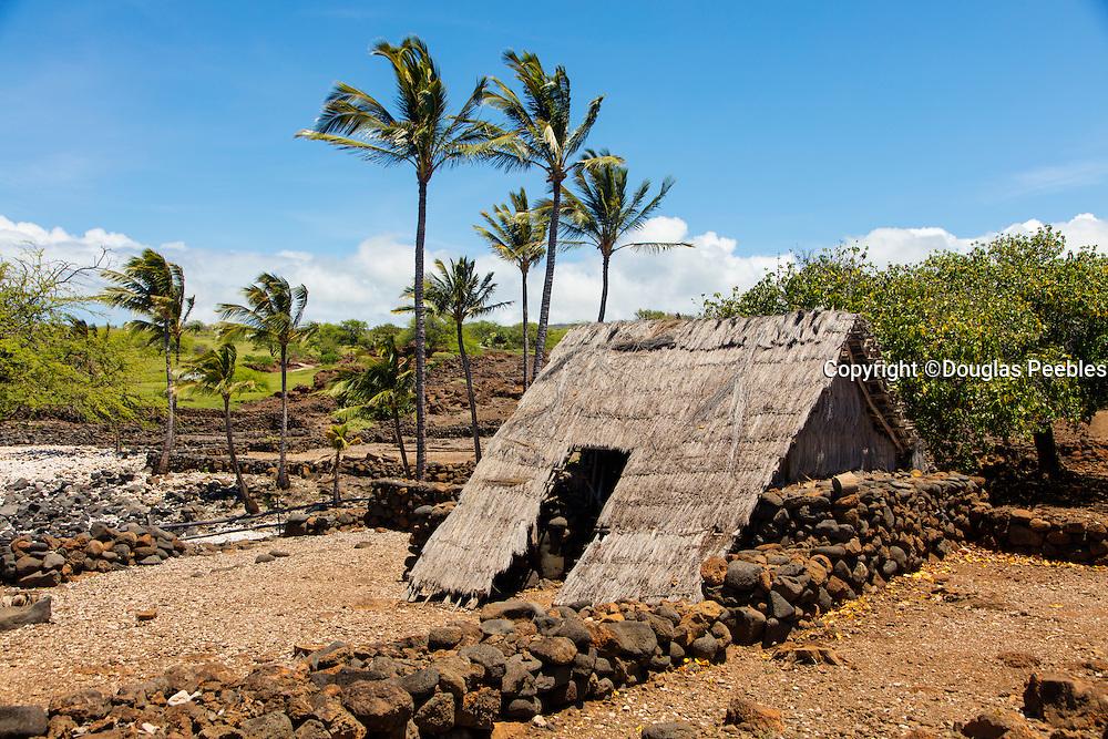 Lapakahi State Park, Heiau and fishing village, The Big Island of Hawaii